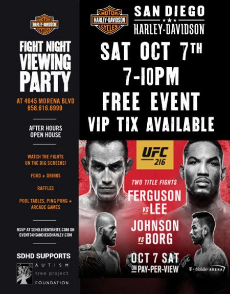 UFC 216 & After Hours Open House Morena