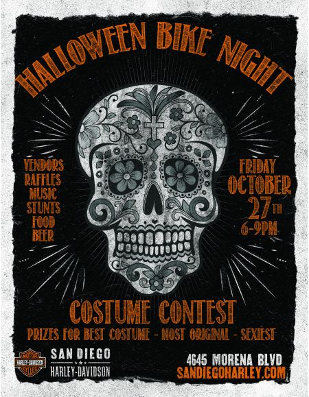 HALLOWEEN BIKE NIGHT MORENA
