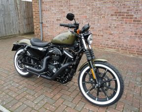 XL883N Sportster Iron 2017 Full Stage One, Whitewall tyres