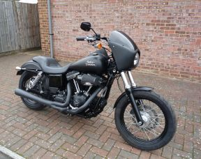 FXDB Dyna Street Bob in Denim Black 2015 Full Stage One