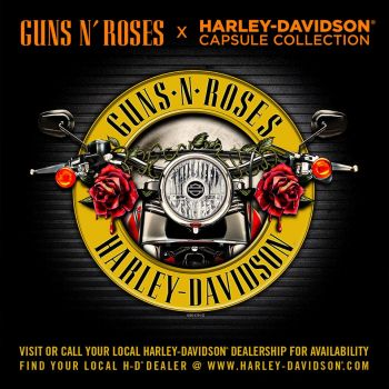 Suradnja Guns'N Roses and Harley-Davidson