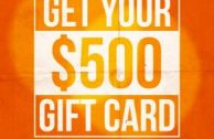 $500 Gift Card With Purchase Of Any Pre-Owned Bike!