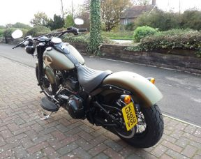 FLSS Softail Slim S 2016 Full Stage One 66 plate