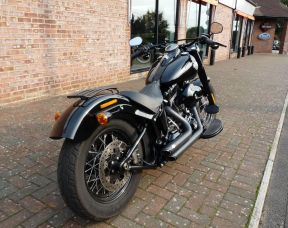 FLSS Softail Slim S 2017 Vivid Black Full Stage One 66 Plate