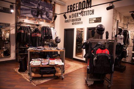 Поступление одежды и аксессуаров  в Harley-Davidson Новосибирск