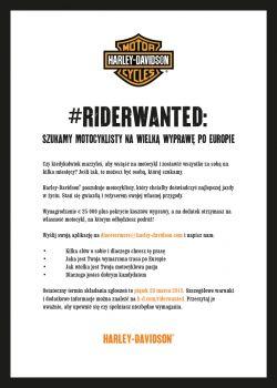 Praca marzeń dla motocyklisty
