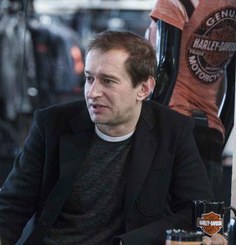 Константин Хабенский в Harley-Davidson Новосибирск