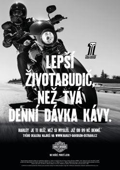 Nastartuj den v sedle Harley-Davidson
