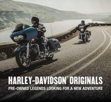 Harley-Davidson® Original Used Bikes