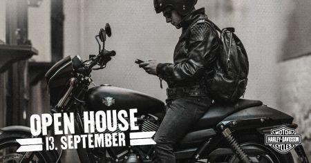 OPEN HOUSE 13. September