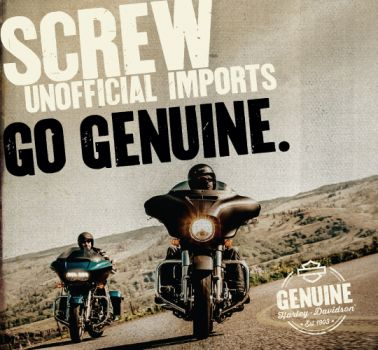 Screw Unofficial Importers. Go Genuine.