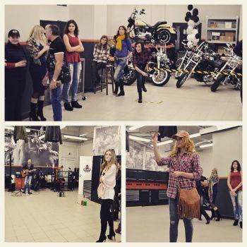 Garage Party в Harley-Davidson Новосибирск 28.03.2015
