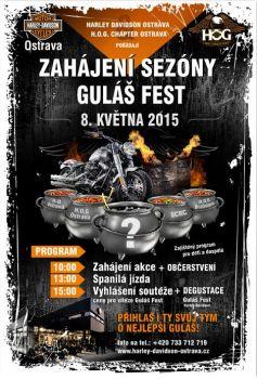Harley Davidson Ostrava & H.O.G. Chapter Ostrava pořádají zahájení sezóny