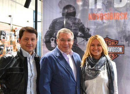 Виктор Толоконский в Harley-Davidson Новосибирск