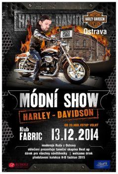 Módní show Harley-Davidson Ostrava