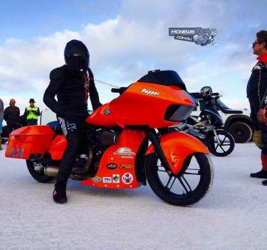 265 км/ч на Harley-Davidson Road Glide
