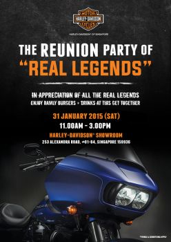 Real Legends Reunion Party
