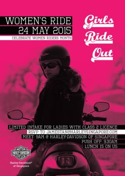 Harley Women's Ride 2015