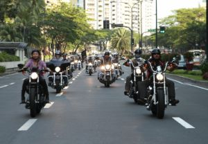 HARLEY-DAVIDSON OF MANILA GRAND LAUNCH (MARCH 2013) MOTORCADE