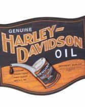 H-D Skylt oil can