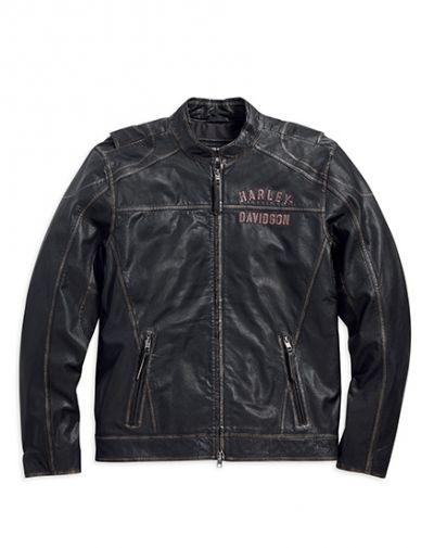 Long Way Leather Jacket
