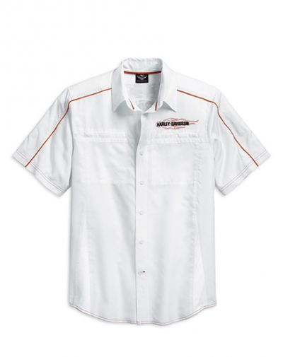Vented Performance Flames Shirt