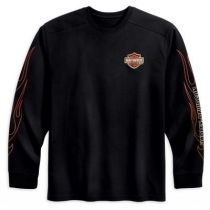 MEN'S FLAMES LONG-SLEEVE TEE