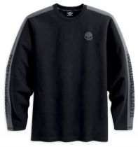 MEN'S SKULL KNIT LONG-SLEEVE TEE