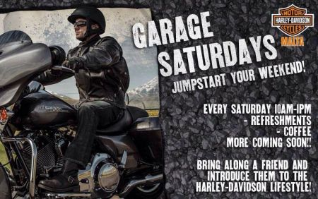 GARAGE SATURDAYS