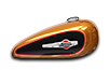1200 Custom - アンバーウイスキー / ビビッドブラック