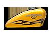 Iron 883<sup>™</sup> - ハードキャンディーブラックゴールドフレーク