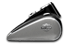 Softail Slim<sup>®</sup> - Two-Tone Charcoal Satin / Vivid Black Satin