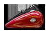 Wide Glide™ - ベロシティーレッドサングロフレイム