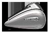 Tri Glide<sup>™ </sup> Ultra - ビレットシルバー