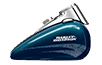 Heritage Softail<sup>®</sup> Classic - Custom Color Cosmic Blue Pearl