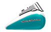 Softail<sup>™</sup> Deluxe - Two-Tone Crushed Ice Pearl / Frosted Teal Pearl