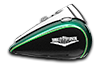 Road King<sup>®</sup> Classic - Two-Tone Deep Jade Pearl / Vivid Black