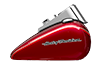 Softail<sup>™</sup> Deluxe - Two-Tone Mysterious Red Sunglo / Velocity Red Sunglo