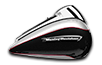 Road Glide<sup>™</sup> Ultra - Two-Tone Billet Silver / Vivid Black