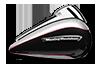Road Glide<sup>®</sup> Ultra - ビレットシルバー / ビビッド ブラック