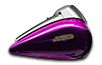 Tri Glide<sup>®</sup> Ultra - Custom Colour Purple Fire / Blackberry Smoke
