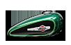 1200 Custom - ディープジェイドパール/ビビッドブラック