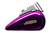 Softail<sup>™</sup> Deluxe - Custom Colour Purple Fire / Blackberry Smoke
