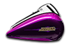 Road Glide<sup>™</sup> Ultra - Custom Colour Purple Fire / Blackberry Smoke