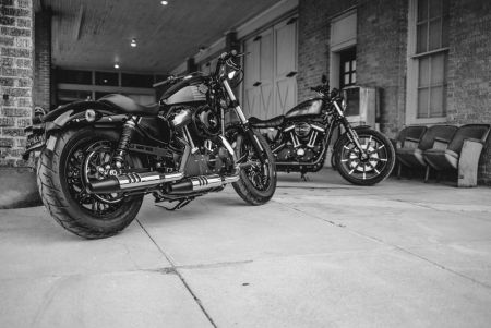 HARLEY-DAVIDSON DARK CUSTOM MOTORCYCLES STIR THE REBEL SOUL