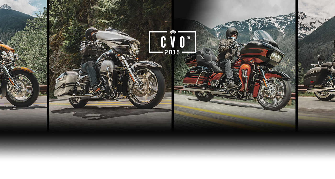 CVO ™ - Новые мотоциклы 2015