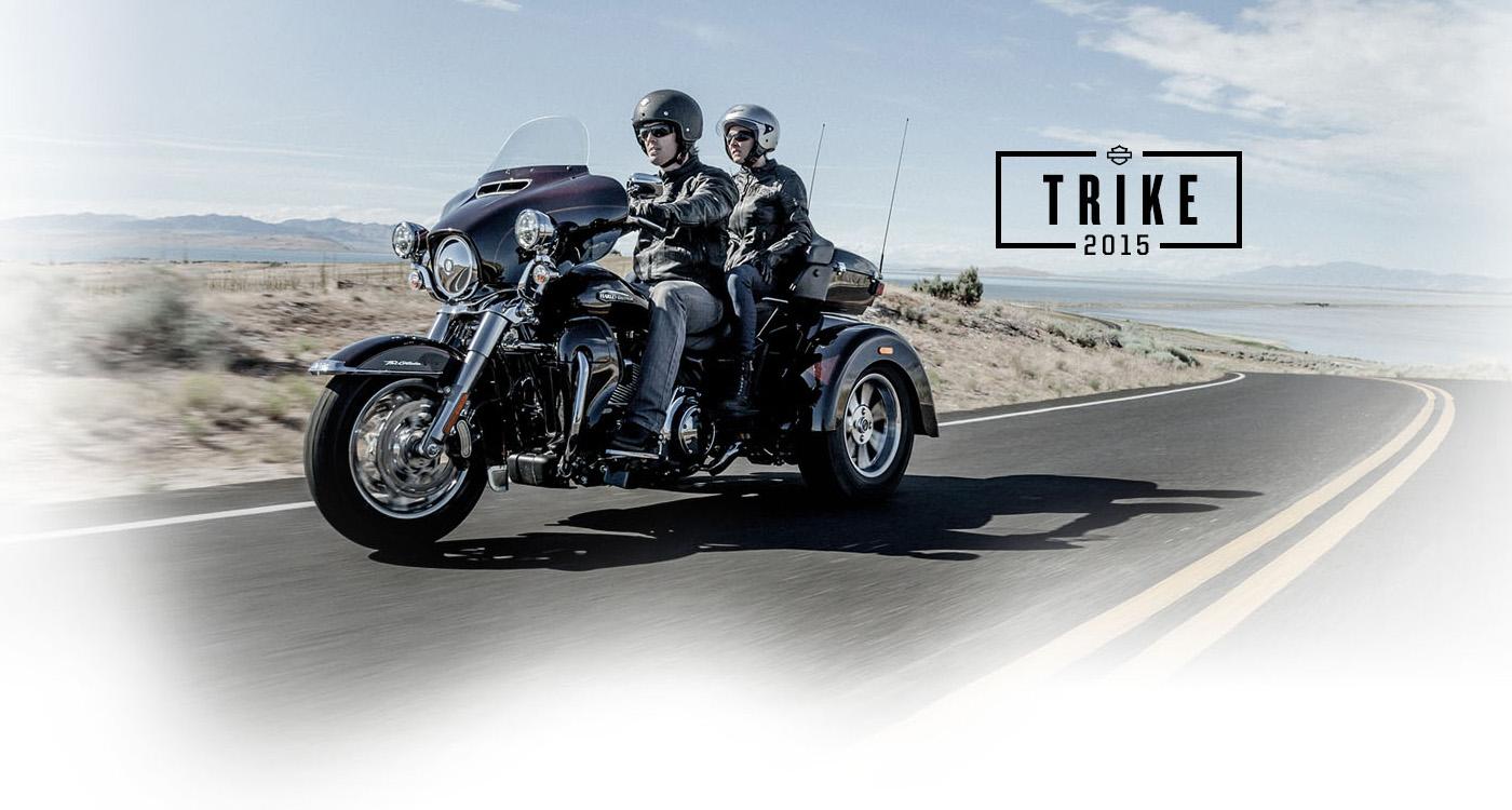 Trike - Motocykle 2015
