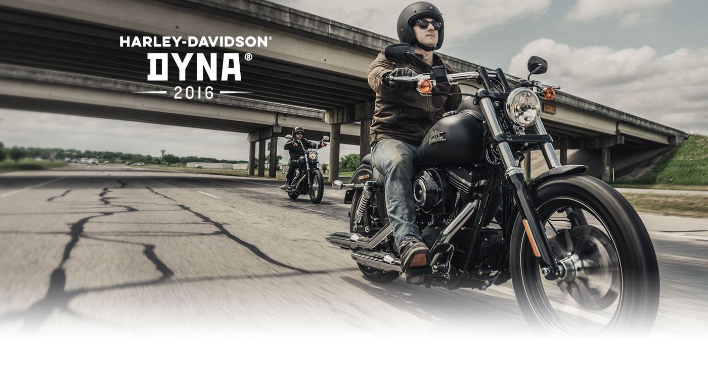 Dyna<sup>®</sup> - אופנועי2016