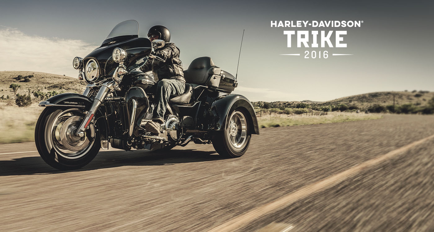 Trike - Motorcyklar årsm. 2016