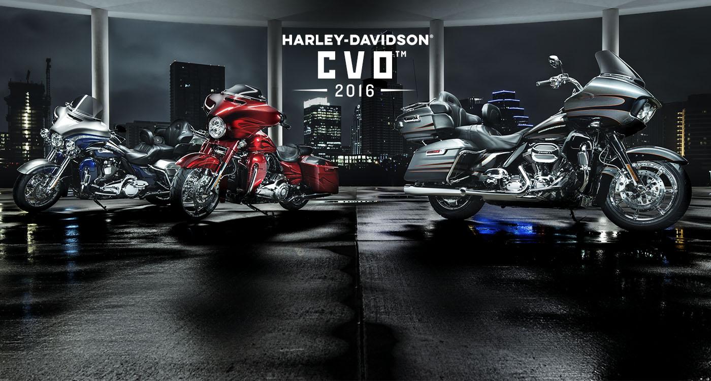 CVO™ - Μοτοσικλετες 2016